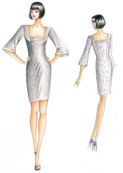 Our Patterns :: Marfy Collection 2010/2011 :: Autumn - Winter :: Sewing pattern 2324 -