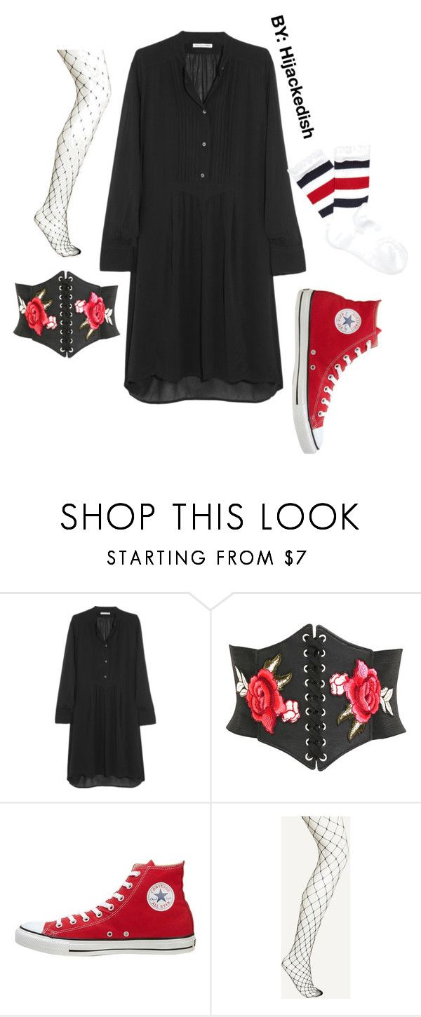 """""""Red converse"""" by hijackedish on Polyvore featuring Étoile Isabel Marant, Pilot, Converse and Gucci"""