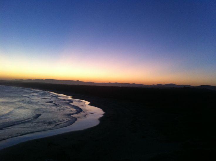 Beach Sunset, Broulee Beach, NSW, Australia