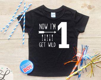 Verjaardag jongen Shirt of Romper / van CourtneyLeighPrints op Etsy