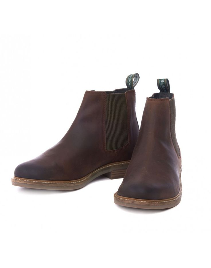 Barbour Men's Farsley Chelsea Boots - Choco MFO0244BR95