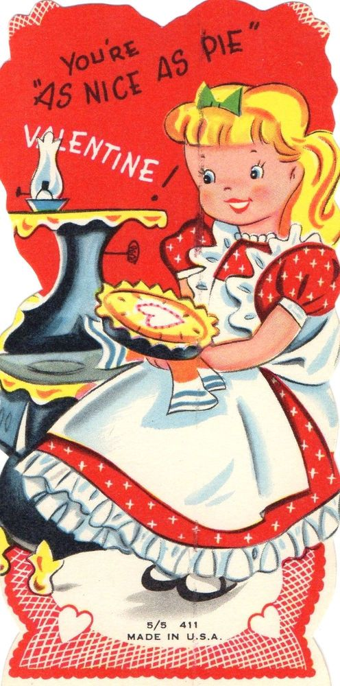 675 best images about Vintage valentine Cards Foods Cooking – Nice Valentine Cards
