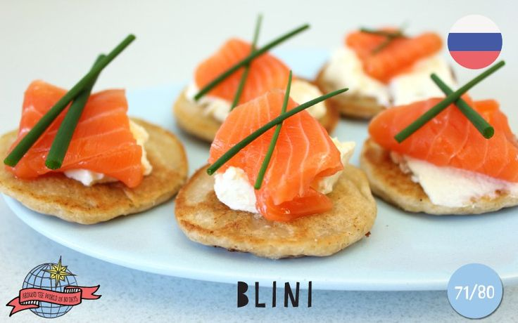 Blini | Russia | Around the World in 80 Days | Moomookachoo