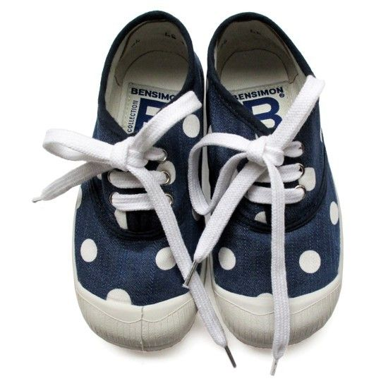 bensimonPolka Dots Shoes, For Kids, Bensimon, Baby Needs, Kids Shoes, Baby Style, The Dots, Baby Shoes, Tennis Shoes
