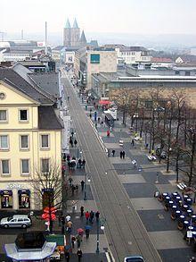 Königsstrasse, the main shopping stree  / Kassel
