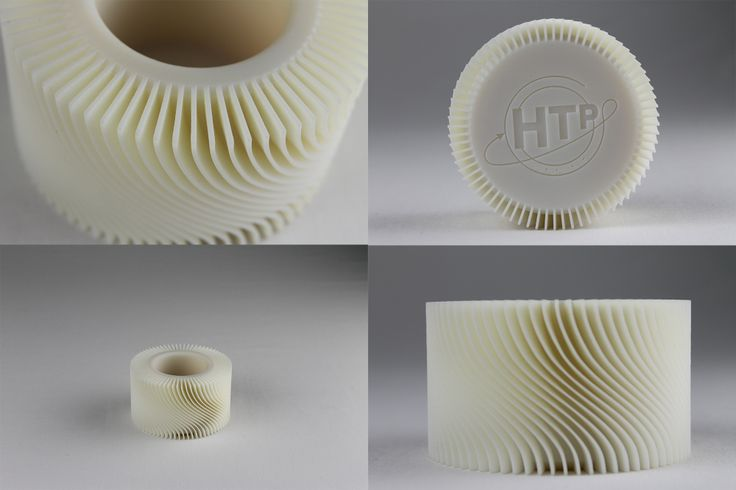 #3Dprinter !! Twist stand!! Impeller shape! Acrylic resin ねじれ!インペラ形状!!アクリル樹脂