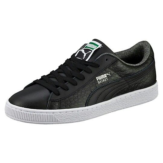 Puma Stepper Luxe Leather Baskets Hommes Noir 9.5 mKR80t