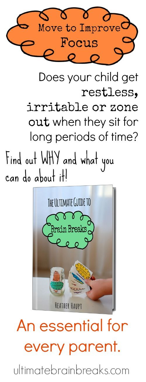 26 best the ultimate guide to brain breaks images on pinterest all in one guide for why our kids need to move and how to fandeluxe Gallery