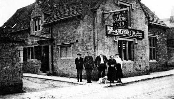 The Greyhound Public House Mansfield Woodhouse 1916