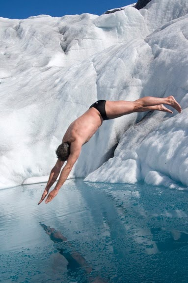 How I feel when diving into the pool for morning practice.