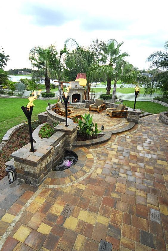 charming garden seating ideas native design | 54 Charming Backyard Hardscape Ideas For Home Landscape ...