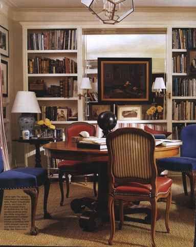 Library Table The Of NY Designer Ward Denton