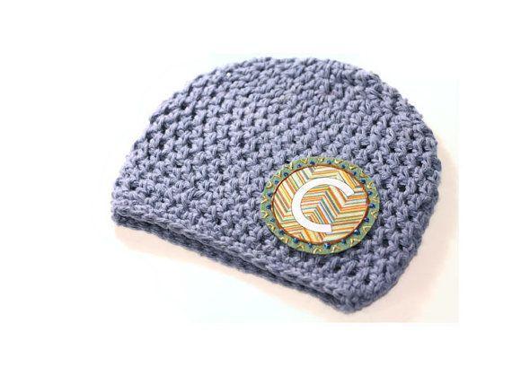 Sombrero de los niños   Gorrita tejida del bebé   Sombrero del ganchillo del algodón   Monograma sombrero   Personalizados regalo   Accesorio de los cabritos   Inicial de sombrero   Sombrero del dril de algodón   Regalos recién nacido  