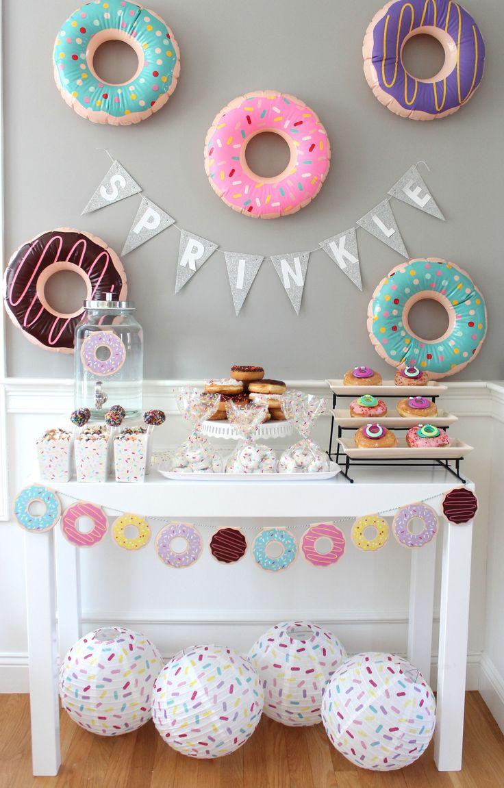donut sprinkle baby shower