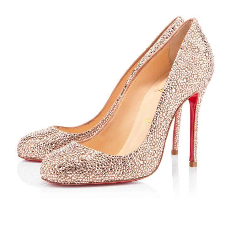 christian louboutin bridal shoes fifi 100mm