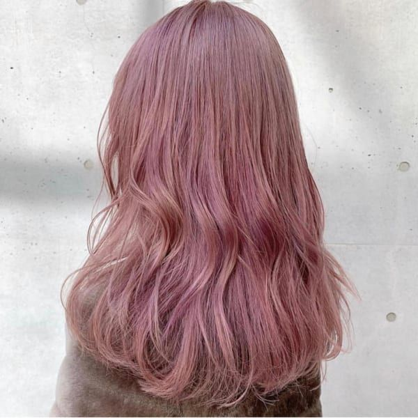 ヘアカラーは ピンク がおすすめ 春にぴったりのカラーを押さえよう