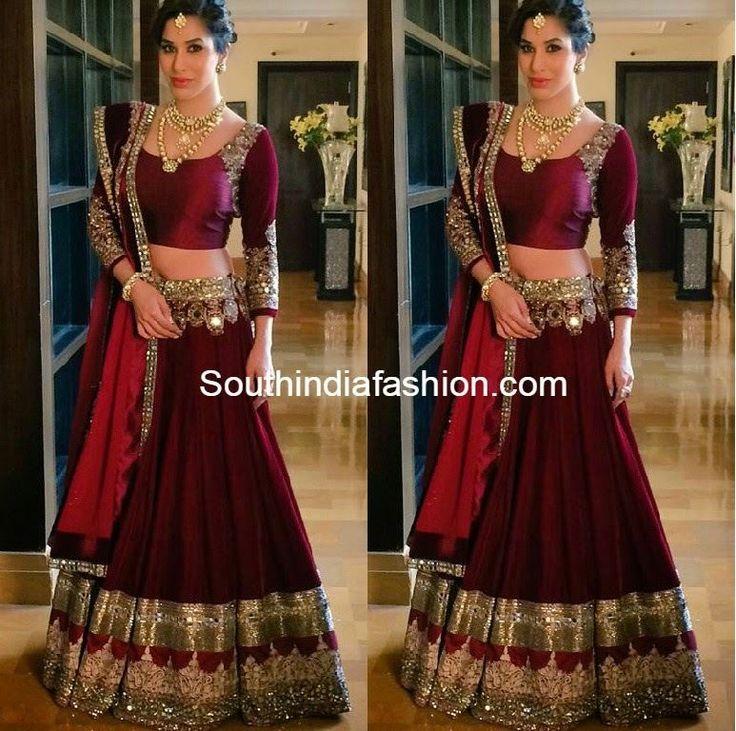 Lehenga Choli Bollywood Sari Wedding Party Wear Indian Pakistani New Designer #Lifestyle #DesignerLehengaCholi