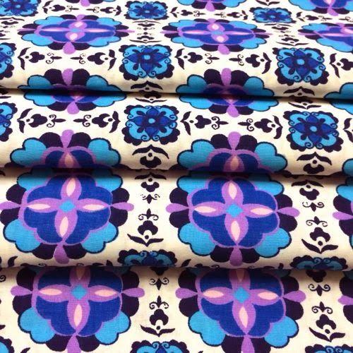 fabulous vintage cotton fabric