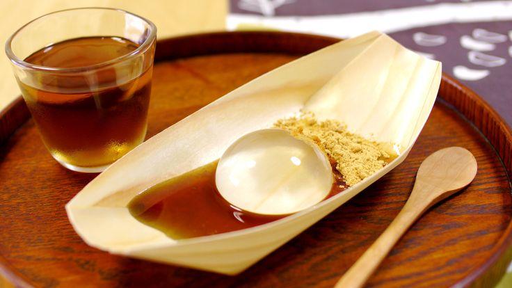 Mizu Shingen Mochi Recipe 水信玄餅 ぷるるん This Cake Looks Like a Raindrop  Check more at