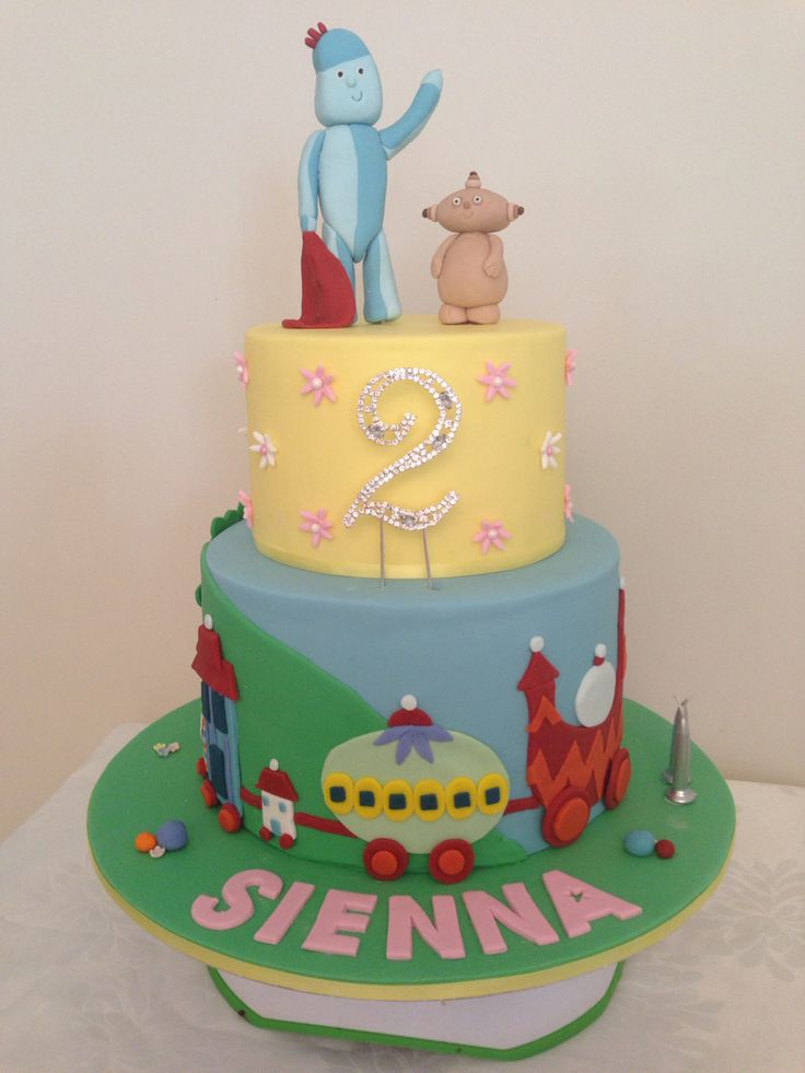 27 best images about in the night garden cake on for In the night garden cakes designs