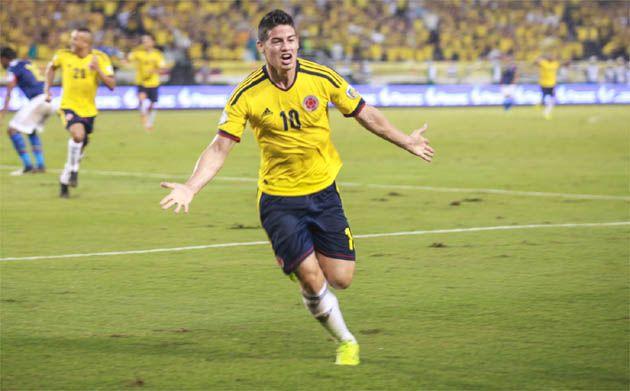 @Colombia Selection: Gol de James Rodriguez - Colombia 1 Ecuador 0 (06/09/2013)