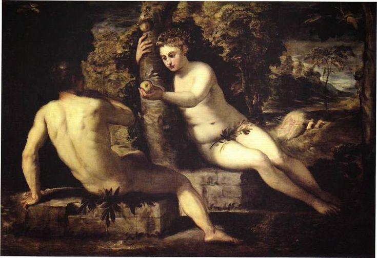 Αδάμ και Εύα  Τιντορέτο (1550)