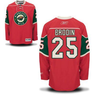 ... get wild 25 jonas brodin home jersey red minnesota wild hockey jerseys  064 adidas minnesota wild 63d3afae5