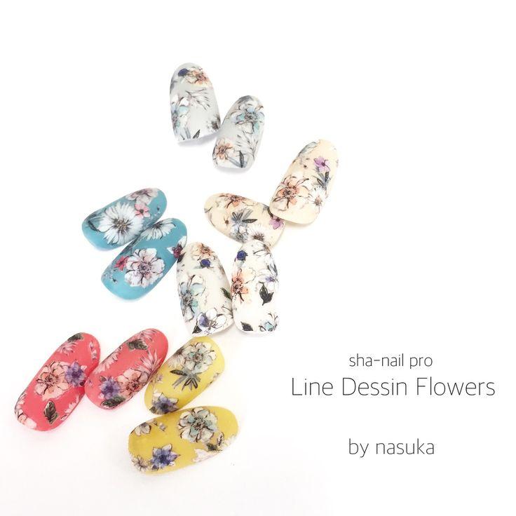 いいね!341件、コメント1件 ― 北川 飛鳥さん(@nasuka1216)のInstagramアカウント: 「. . 7/1発売!新作! . sha-nail pro Line Dessin Flowers . . たくさんのいいね!ありがとうございます◡̈♪ . 好評のため、只今色違いで制作途中です♡ .…」