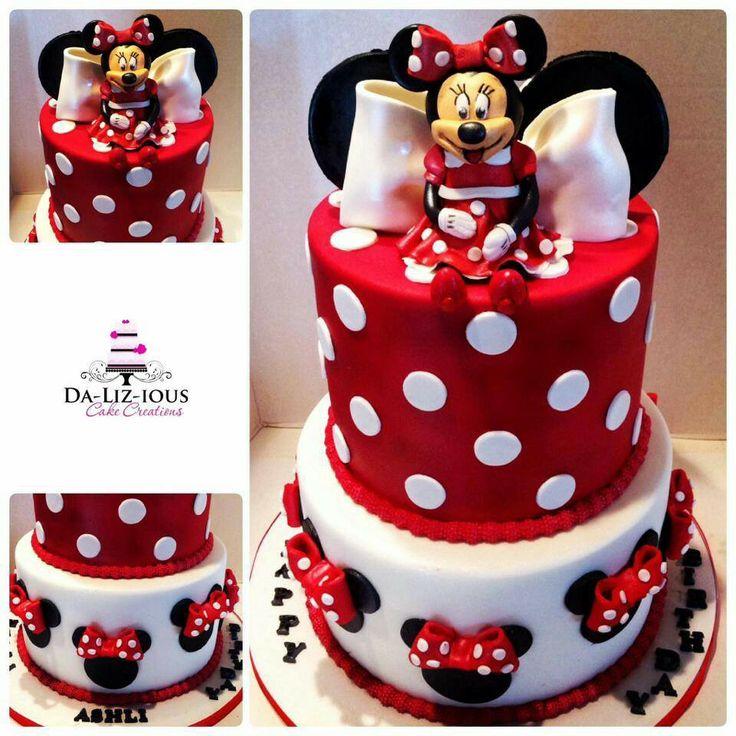 Mini Mouse Cake Mini Mouse Birthday Ideas Pinterest