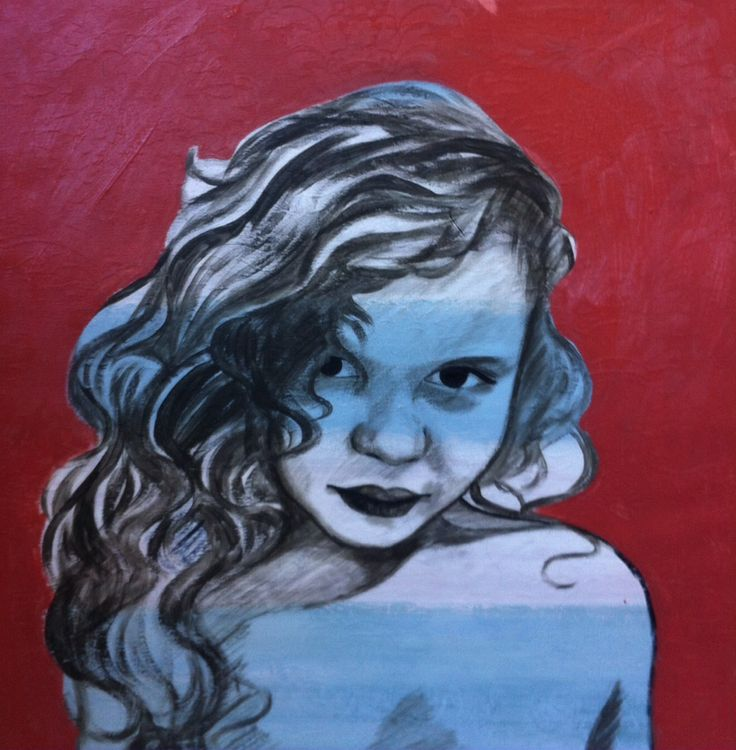 In the style of Bromley. Acrylic on cotton. 'Ardy' by Tara Green
