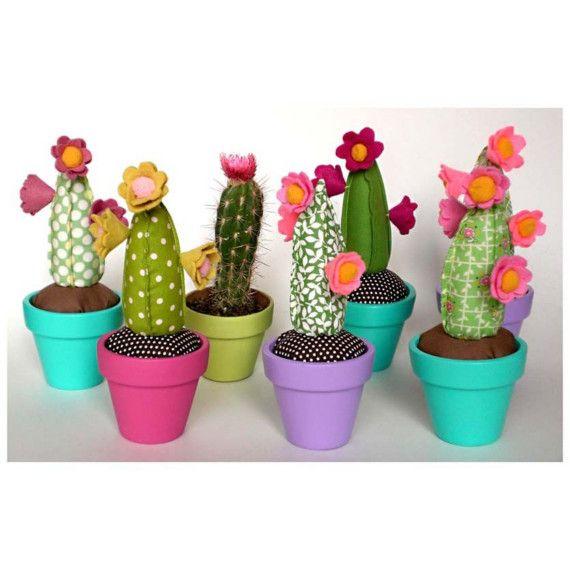 Cactus pin cushions.