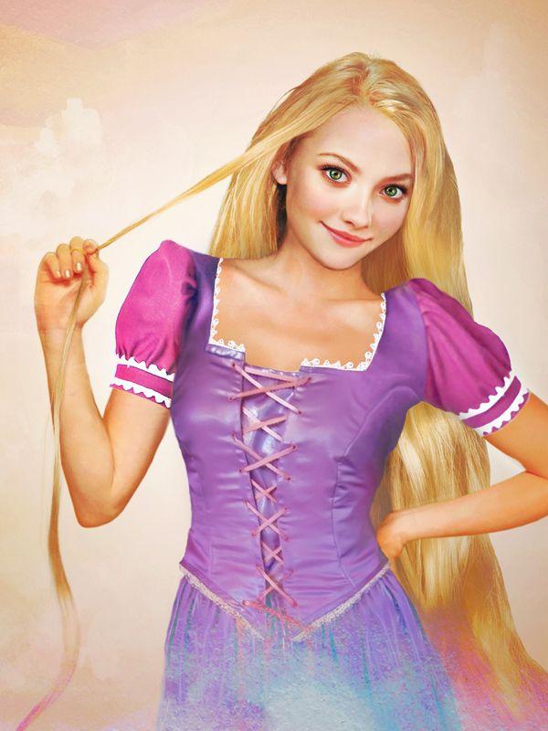 Rapunzel: Dakota Fans, Real Life, Real Disney Princesses, Photo Manipulation, Graphics Design, Digital Painting, Disney Girls, Amanda Seyfried, Disney Character
