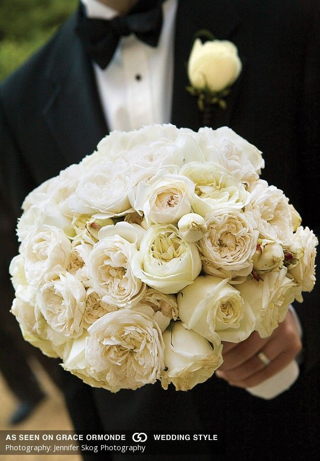 Images of Wedding Bouquets and Boutonnieres | Inspiration and Ideas for Planning a Wedding