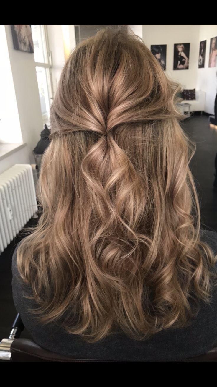 Frauen Haarfarbe Brünette Highlights-  [ad_1]    …