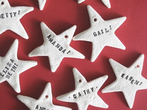 15 DIY Salt Dough Christmas Ornaments | Shelterness