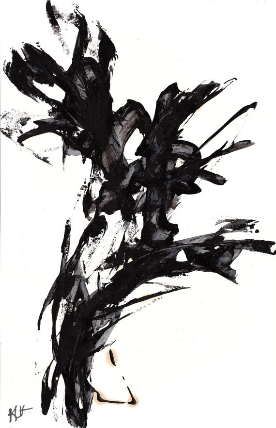 Abstract Expressionism Art  Seduction Of by AbstractXpressionism, $75.00    LOVING THIS PIECE!!!: Artis310 Inspiration, Abstract Art, Brilliant Artists, Abstract Expressionism, Abstract Expressions, Art Seduction, 2014 Art, Black, Abstract Expresionisim