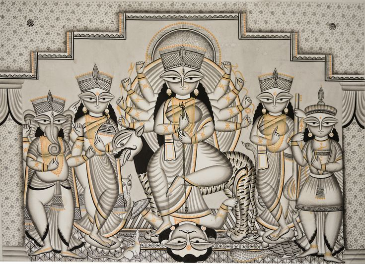 patachitra painting of bengal - Google Search