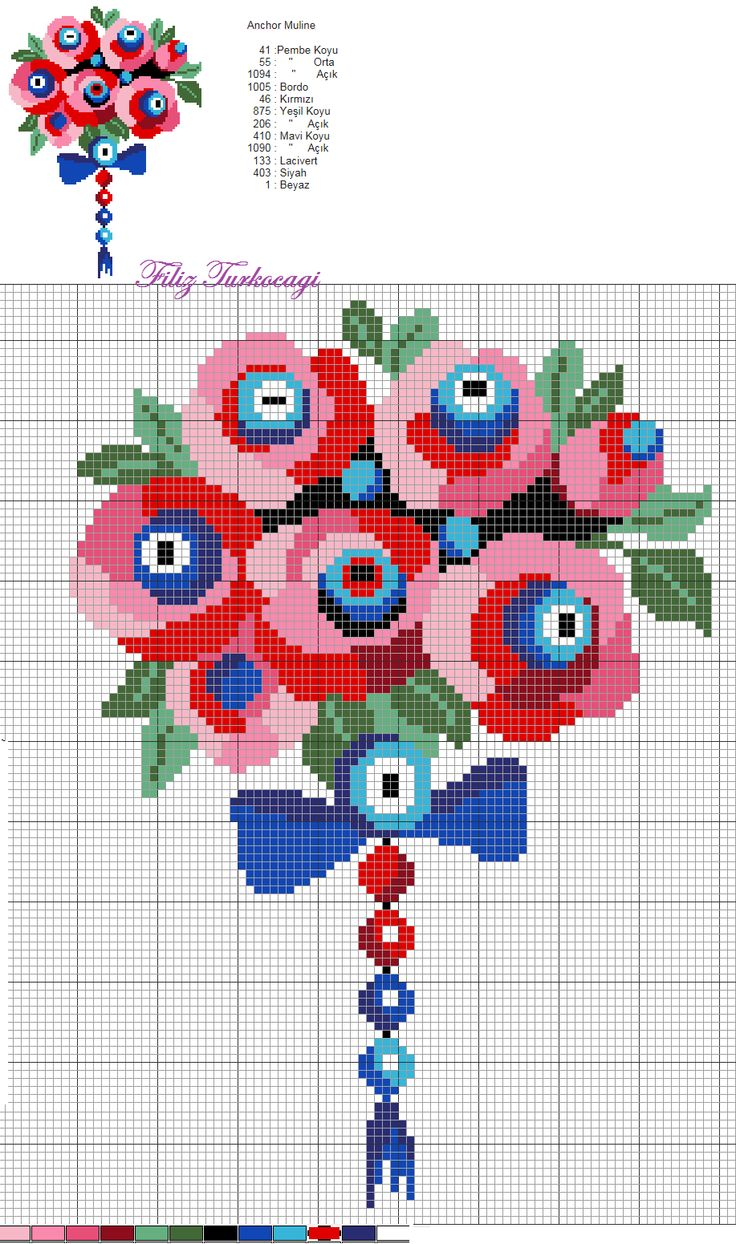 pattern / chart for cross stitch, crochet, knitting, knotting, beading, weaving, pixel art, and other crafting projects