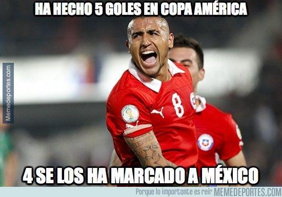 Chile vs Mexico Copa America Chile 2015