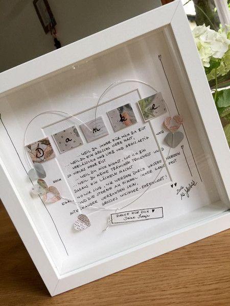 Bilder - Danke für Deine Freundschaft /LIEBE - ein Designerstück von wiwi111 bei DaWanda