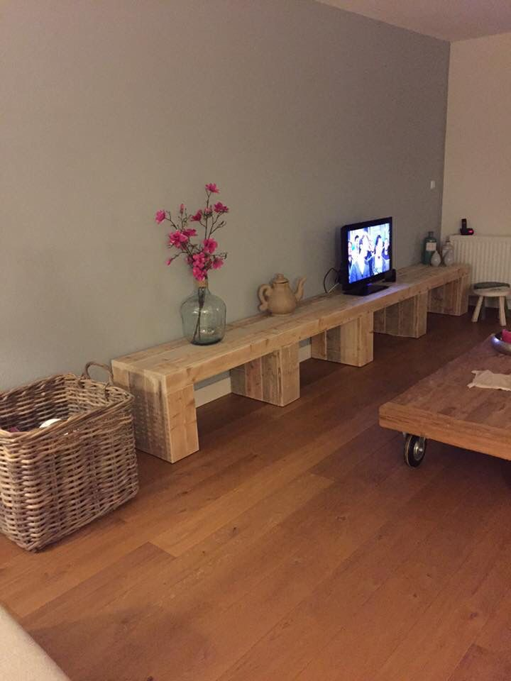 Tv meubel by studio fien furniture studio fien label shop living office - Meubels keukenraam ...