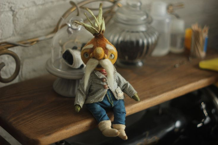Grandpa onion by chernyachi on Etsy
