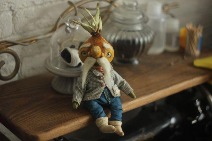 Grandpa onion by chernyachi on Etsy