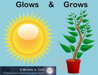 Glows, Grows, and Professional Journals - How I reflect and keep up with professional reading (or sometimes not). | Mrs. J in the Library @ A Wrinkle in Tech