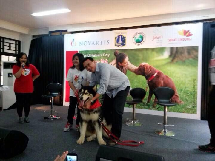 World Rabies Day with Jakarta Governor