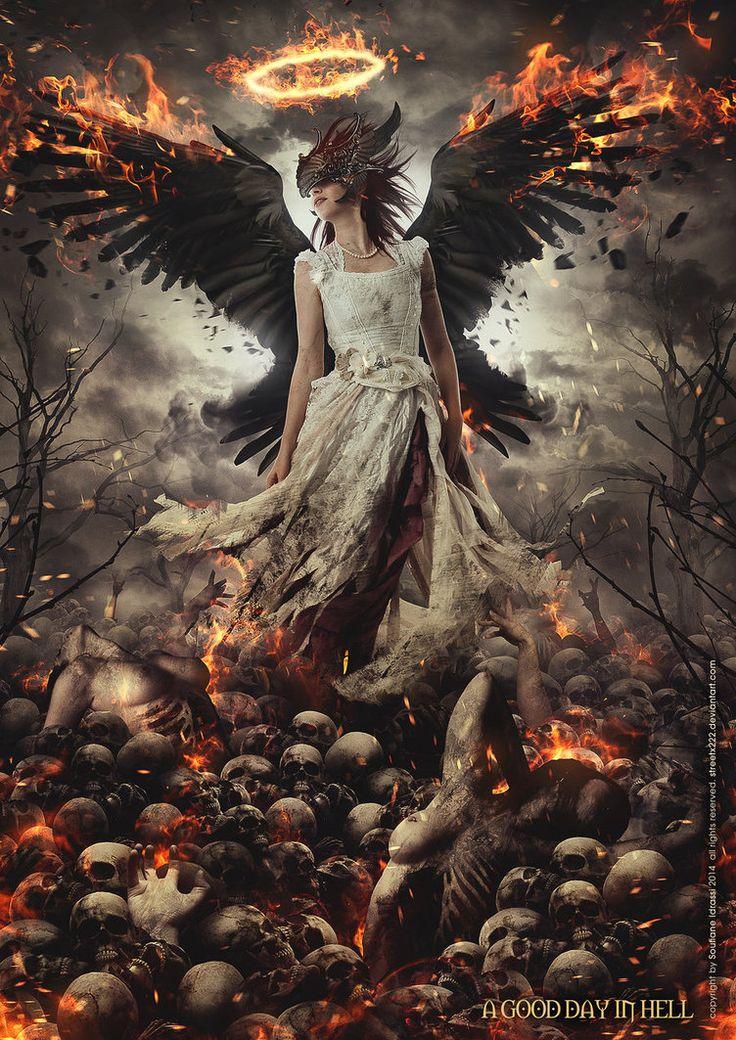 """A Good Day In Hell - """"Atrapada en un círculo, la confusión no es nada nuevo. Recuerdos de noches cálidas, casi dejadas atrás, maletas de recuerdos, un tiempo después que no me llamas mas.."""" https://www.youtube.com/watch?v=tdRC1R_Oh7Y ♥♡♥"""
