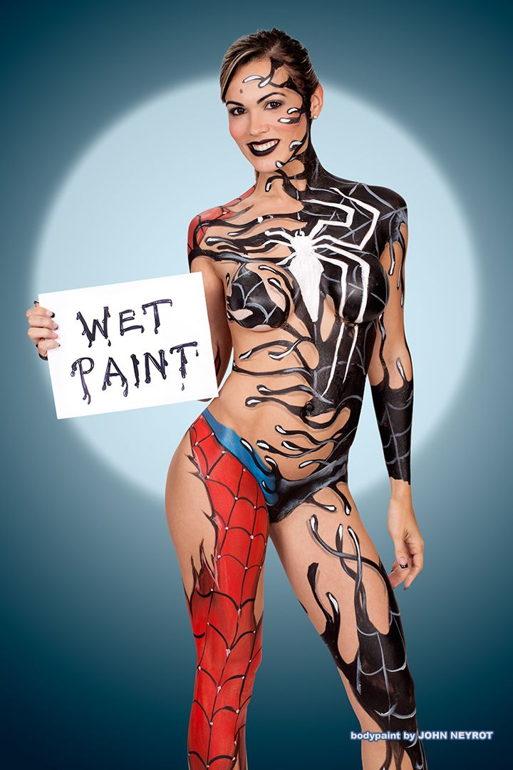 how to become a body paint model