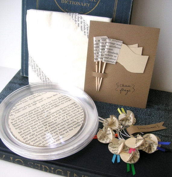 Book Club Little Wine and Cheese Party Kit