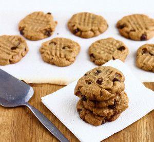(3-Ingredient) Peanut Butter Cookies