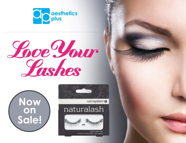 Have beautiful lashes this summer with Naturalash! Stock up now while their on sale. To order call 800-535-0221, visit www.aesthetics-plus.com or stop in and shop at your local AP!